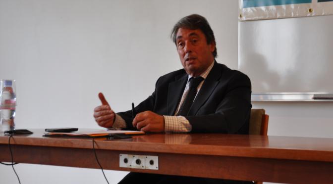 Ouverture du cycle de conférences Droit et Montagne par M. Michel Destot, Député de l'Isère