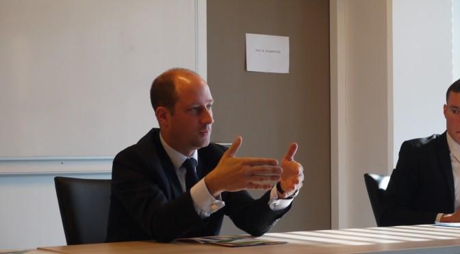 Loïc Hervé poursuit le cycle des conférences du Master